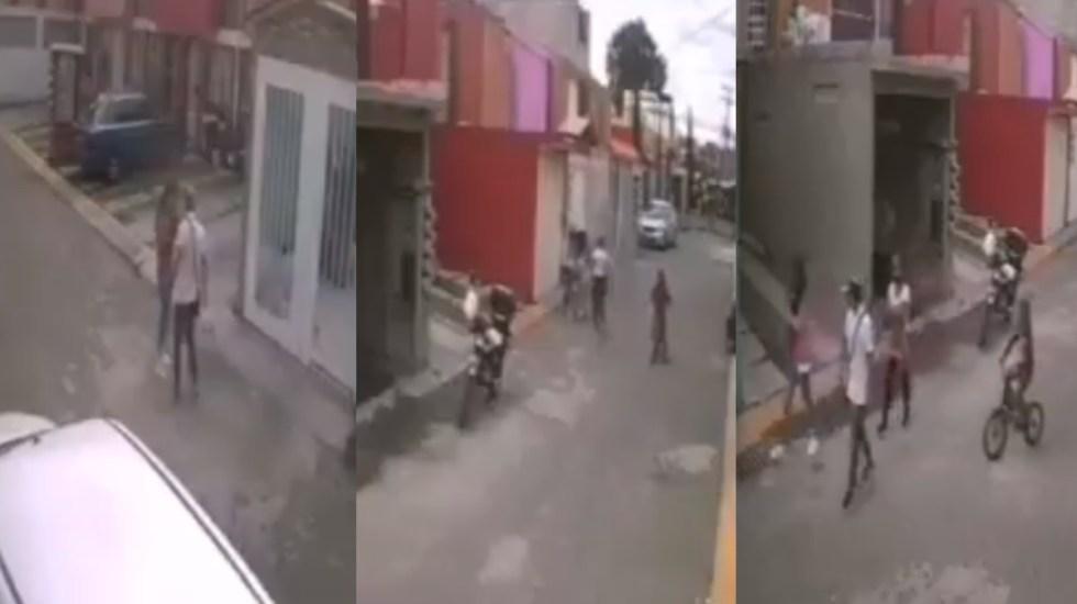 Ecatepec: individuo golpea a mujer en fraccionamiento Foto: Internet
