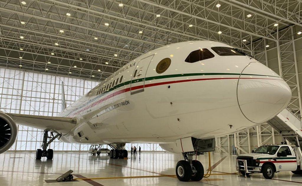 avión presidencial TP-01 Foto: Internet