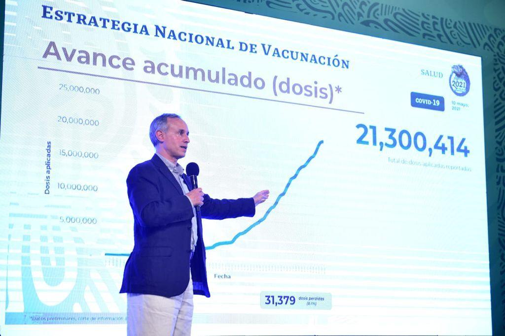 México supera los 219 mil decesos por covid-19