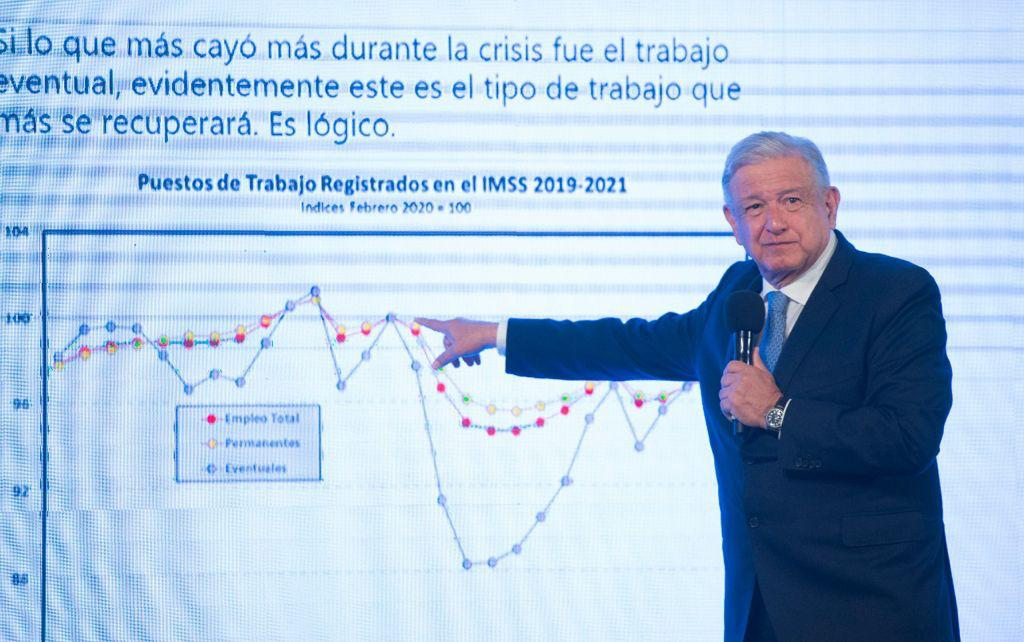Economía se recupera: AMLO
