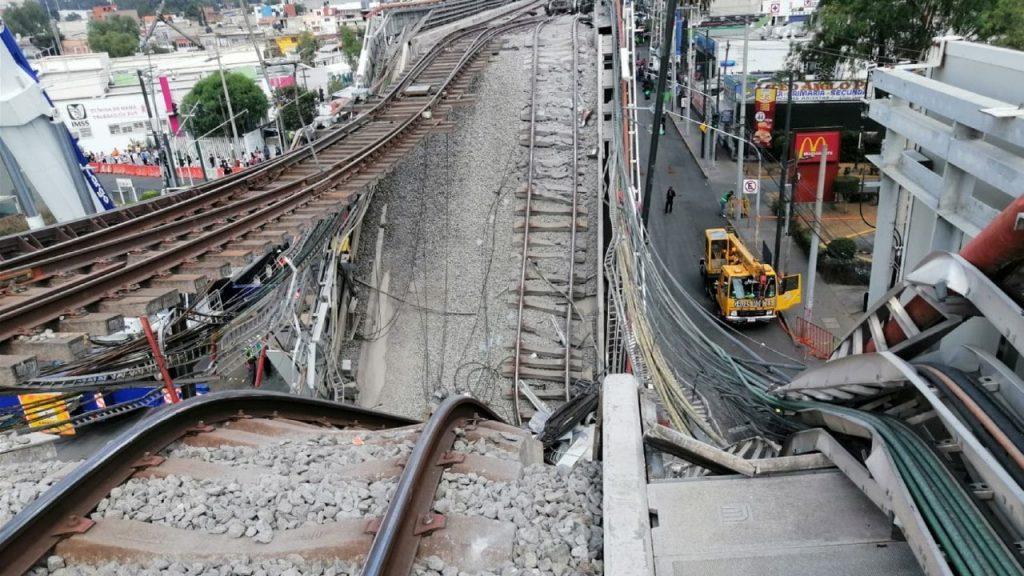 Inicia reconstrucción de la línea 12 del metro que colapsó en CDMX
