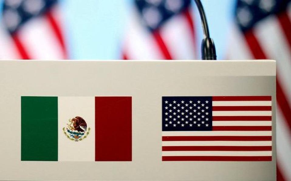 México-EUA Foto: Internet