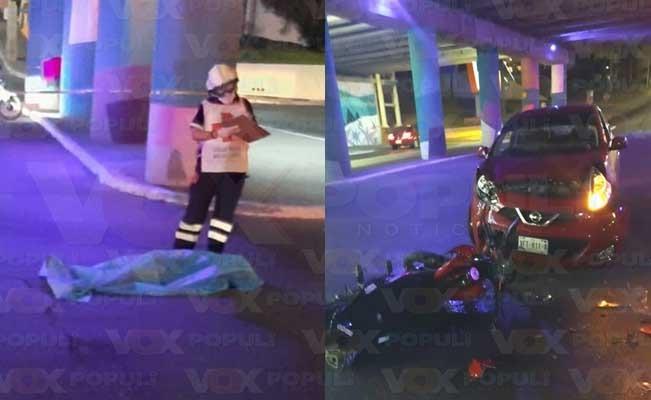 Mujer graba momento de su muerte al ir en una motocicleta Foto: Internet