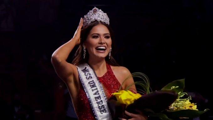 AMLO felicitó a Andrea Meza