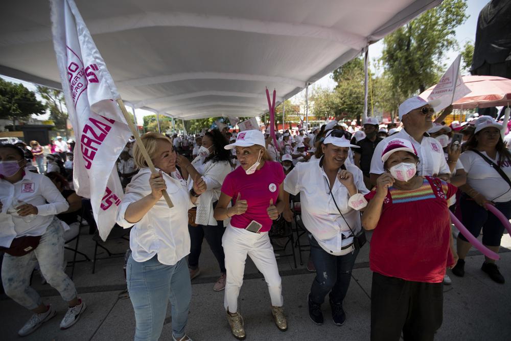 Elecciones en México: ¿un pase libre o un freno a AMLO? Foto: AP