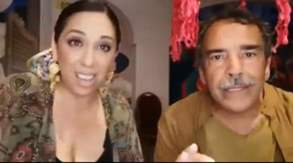 Regina Orozco y Damián Alcázar llaman a votar por Morena el 6 de junio Foto: Internet