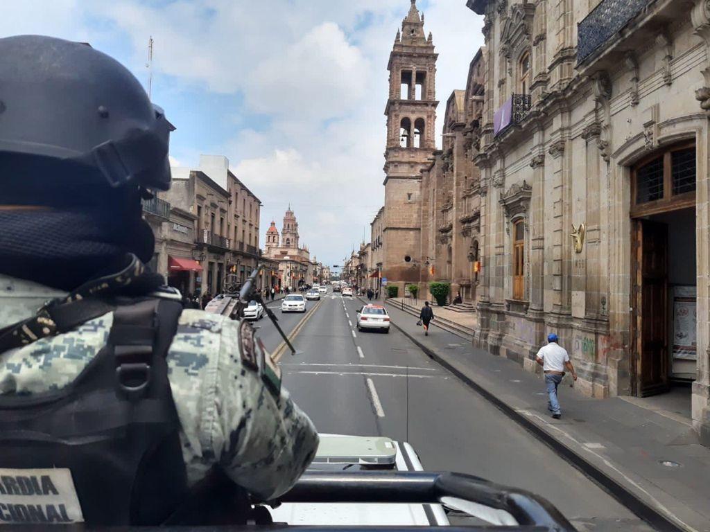 GN estableció despliegue para brindar seguridad durante la jornada electoral del 6 de junio