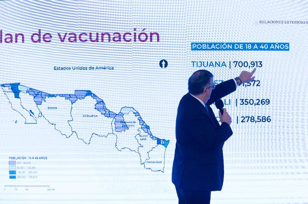 Vacunación en la frontera norte y zonas turísticas: SRE