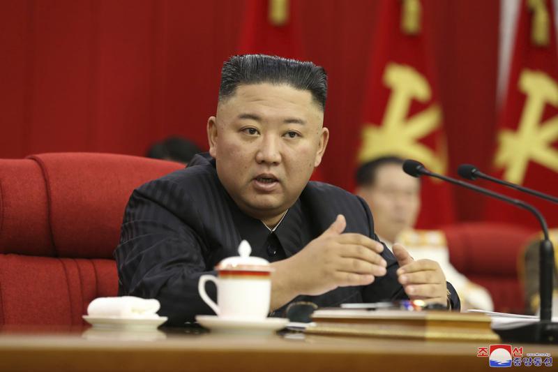 Kim Jong Un promete estar listo para confrontación con EEUU Foto: AP