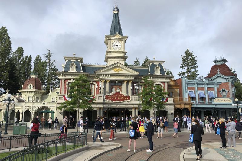 Reabre Disneyland Paris, un paso más hacia la recuperación Foto: AP