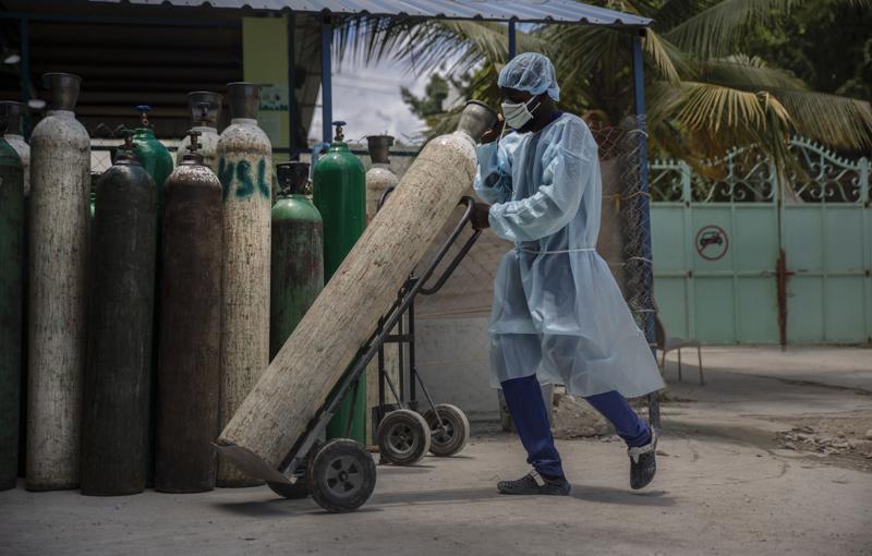 Ola de COVID-19 en Haití, que no ha recibido una sola vacuna
