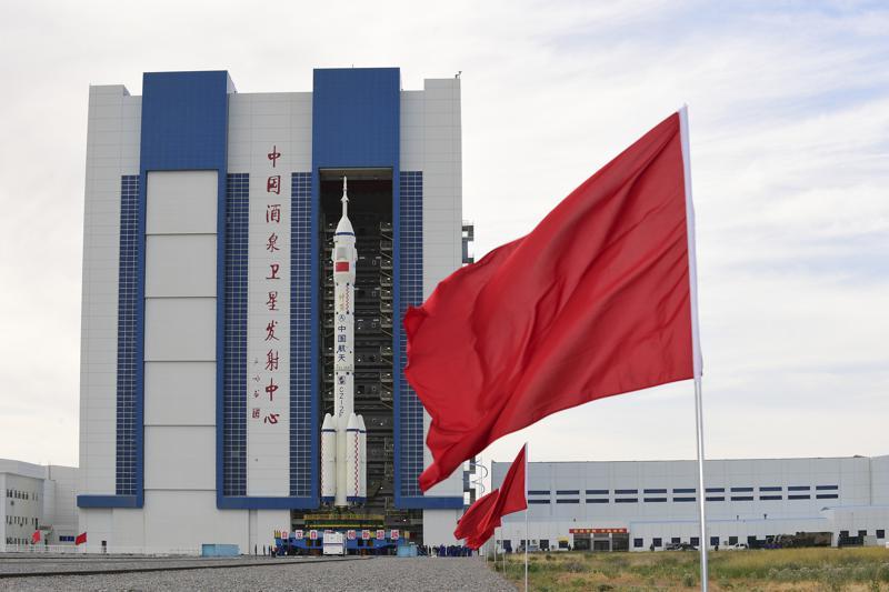 China prepara su lanzamiento tripulado a estación espacial Foto: AP