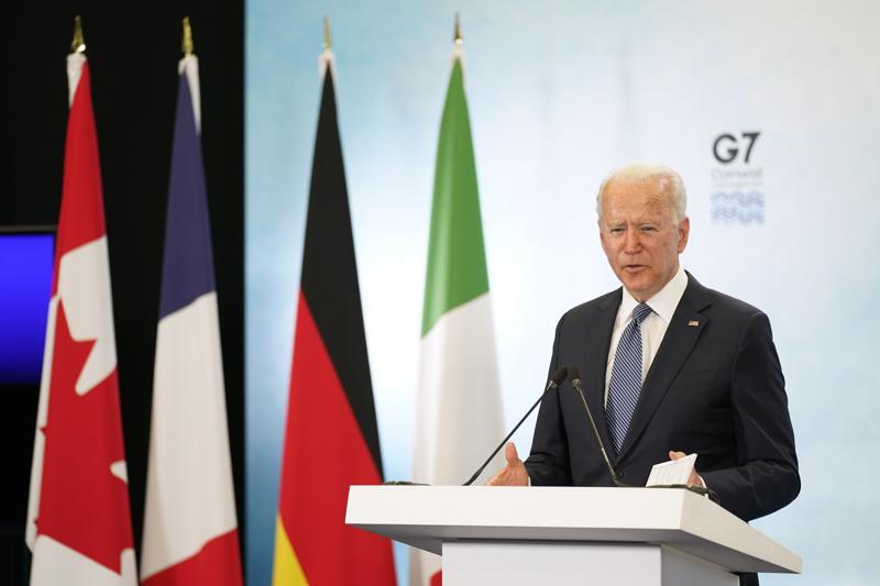 G7 donará 1.000 millones de vacunas COVID a países pobres