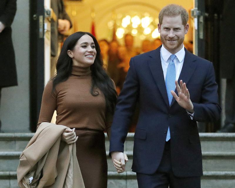 Nace el segundo bebé de Enrique y Meghan, una niña Foto: AP
