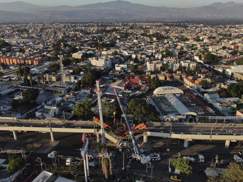 Informe culpa a las malas soldaduras del colapso del Metro de la CDMX Foto: AP