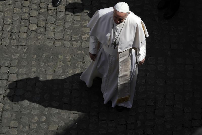Papa Francisco reivindica derecho de organización sindical Foto: AP