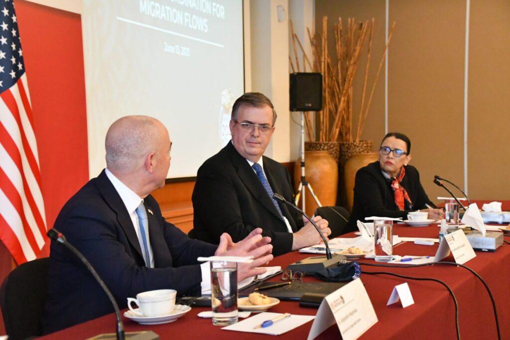 SSPC y SRE concluyen reunión con el Secretario de Seguridad Nacional de EUA