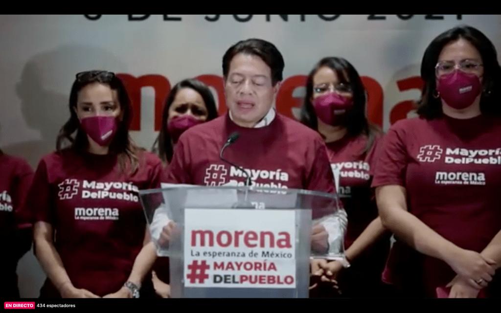 Mario Delgado proclama triunfo de Morena en mayoría de estados, alcaldías y diputaciones
