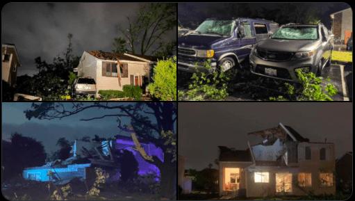 Tornado azota suburbio de Chicago, deja daños y heridos