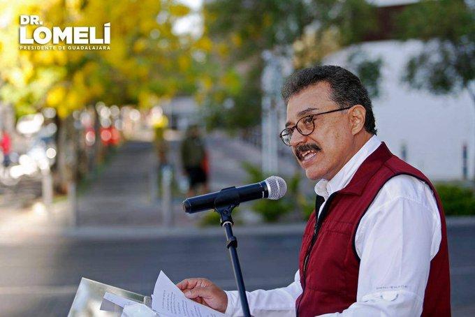 Carlos Lomelí Bolaños Foto: @DrCarlosLomeIi