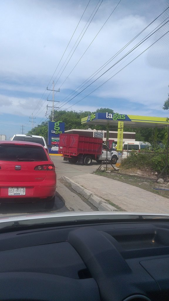 Quintana Roo registra desabasto de gasolina
