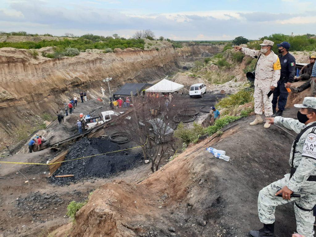 Suben a 4 los muertos por derrumbe en mina en Coahuila