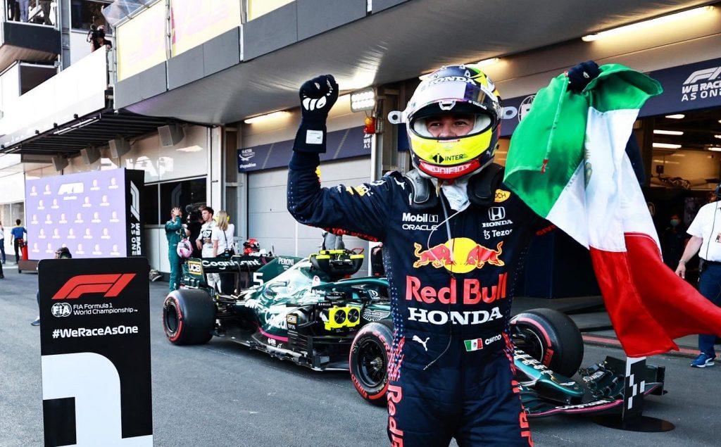 ¡Orgullo mexicano! Glorioso triunfo de Sergio Pérez en Azerbaiyán