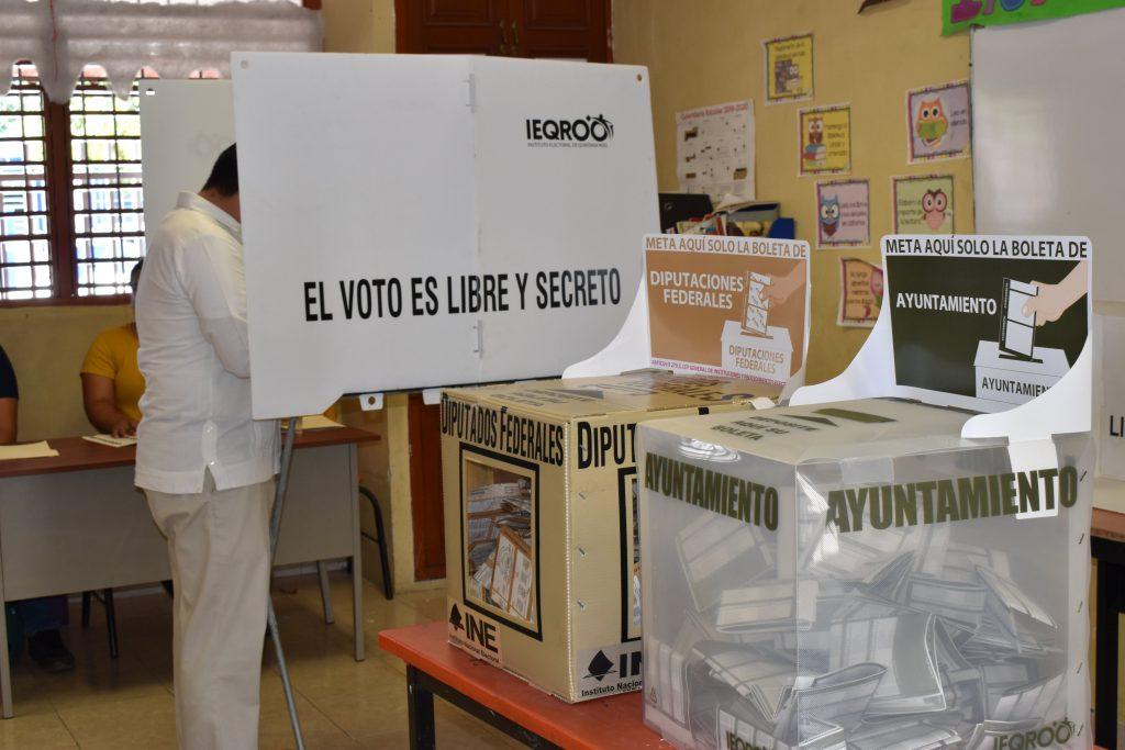 elecciones Foto: @IEQROO_oficial
