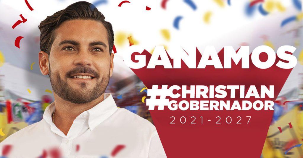 ¡Ganamos gracias a la fuerza de los campechanos!: Christian Castro Bello, candidato de Coalición Va x Campeche