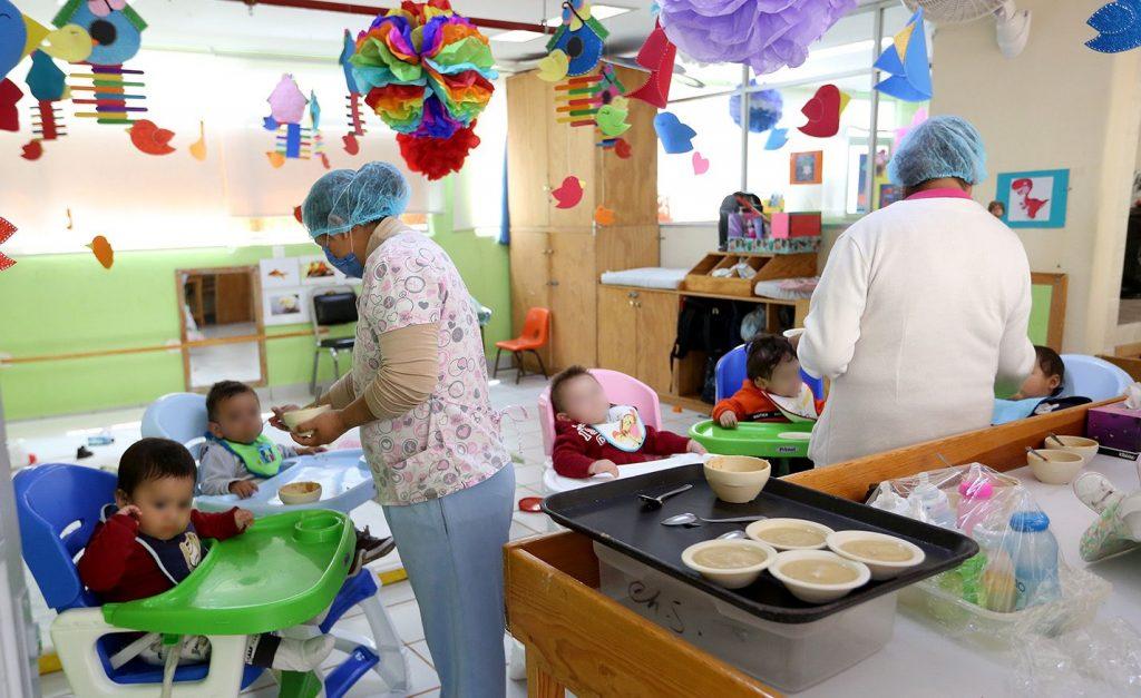 estancias infantiles Foto: @ISSSTE_mx