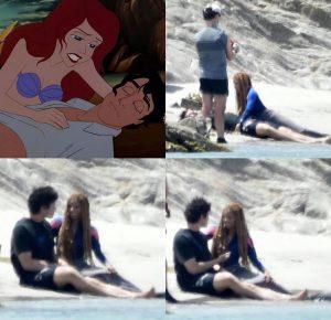 """Difunden primeras imágenes de live-action de""""La Sirenita"""" de Disney"""