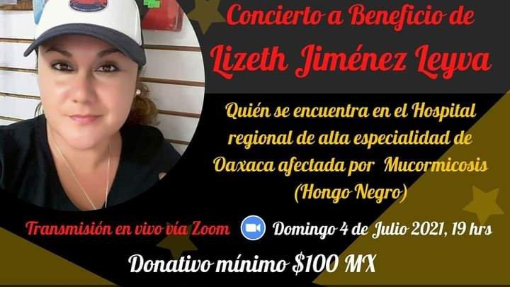 Familiares de mujer con hongo negro y coronavirus pide ayuda en Oaxaca