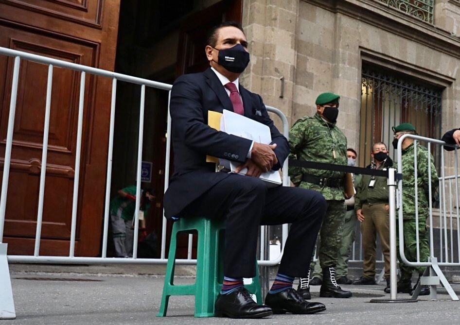 Silvano Aureoles pide audiencia con AMLO