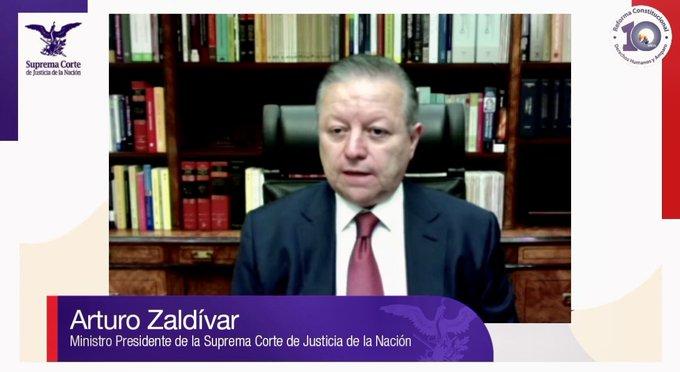 Arturo Zaldívar Foto: @ArturoZaldivarL
