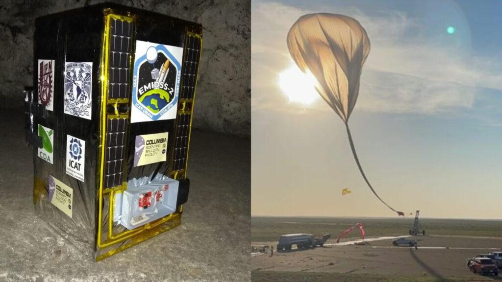 IPN realiza con éxito el segundo vuelo suborbital con la NASA