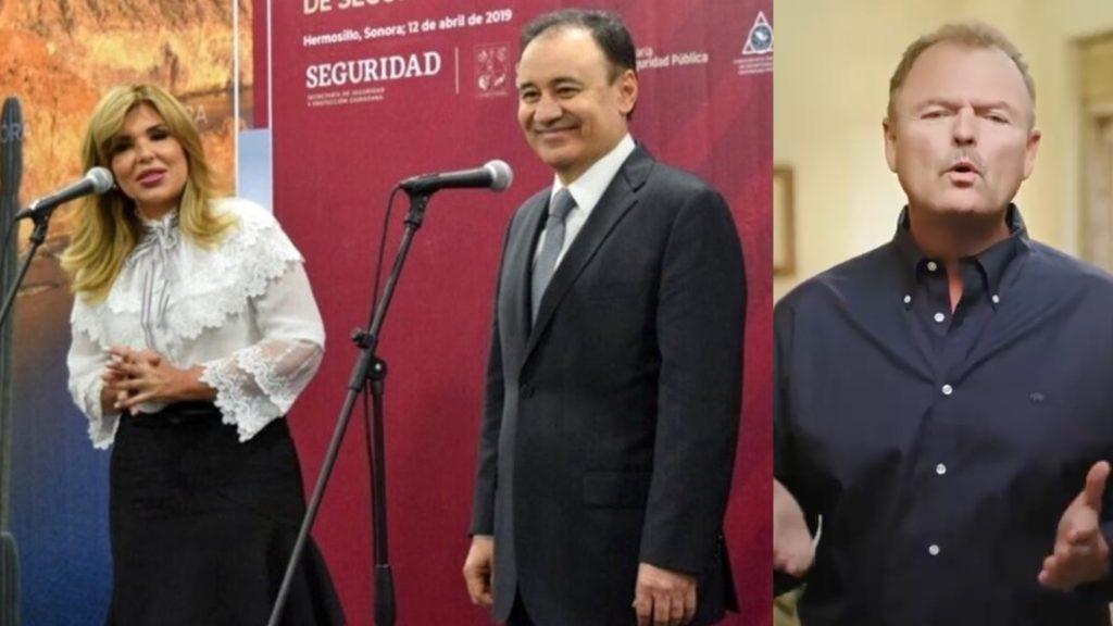 Felicitan Claudia Pavlovich y Ernesto Gándara a Alfonso Durazo