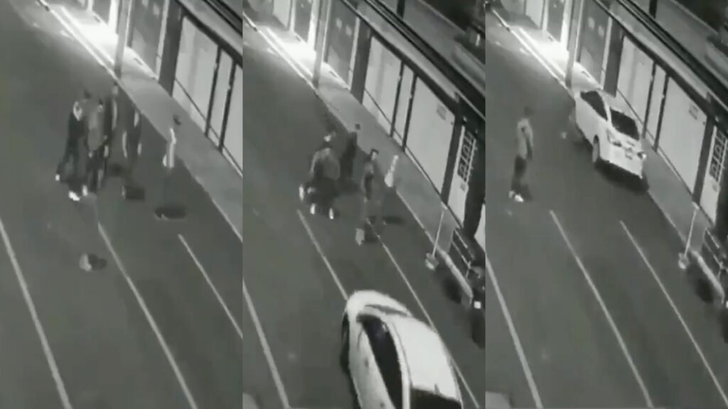 Sujeto arrolló a 2 chicas en Iztacalco y se dio a la fuga