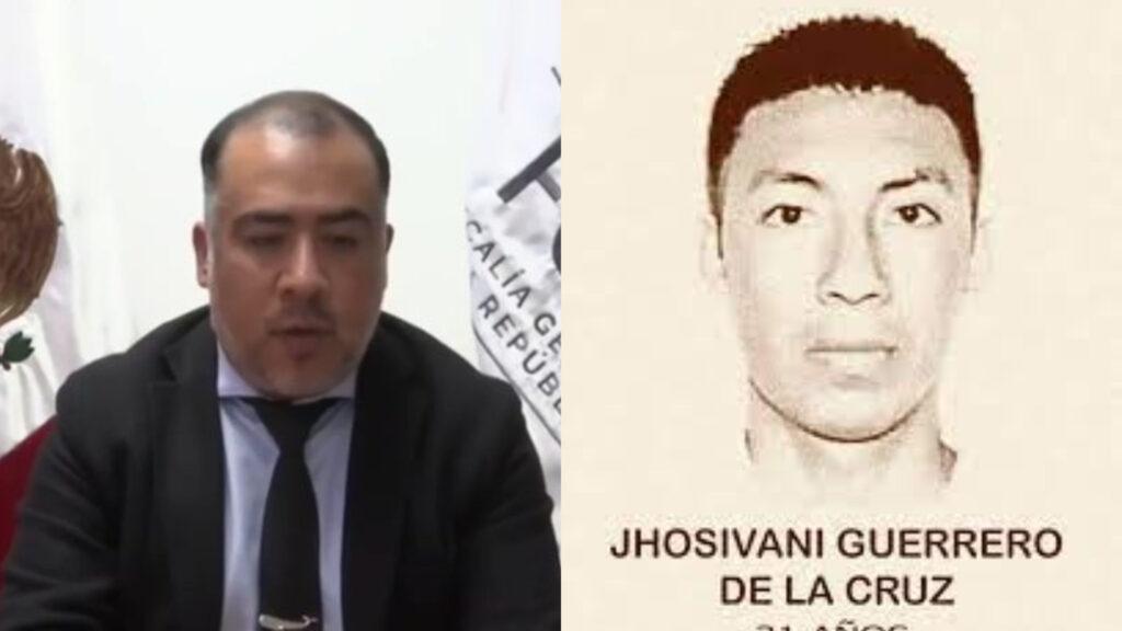 Titular de la Unidad de Investigación para el caso Ayotzinapa, confirmó restos de un normalista desaparecido en 2014