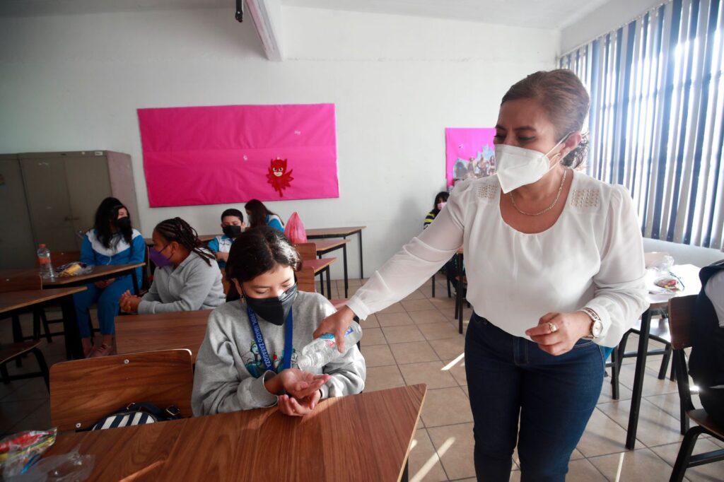 clases presenciales Foto: Jornada