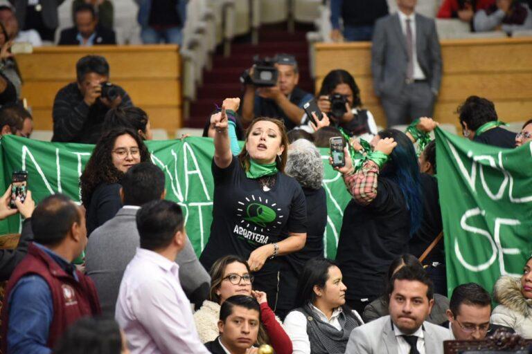 Congreso de Hidalgo aprueba despenalización del aborto