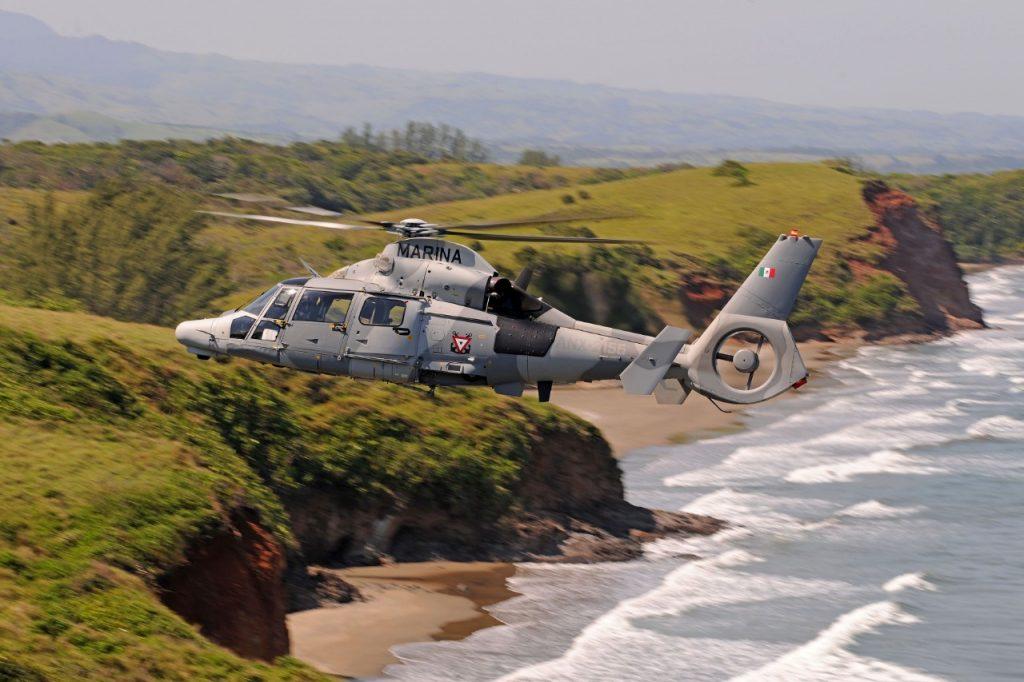 Los helicópteros Phanter de la Semar cumplen 5 años al servicio de la patria