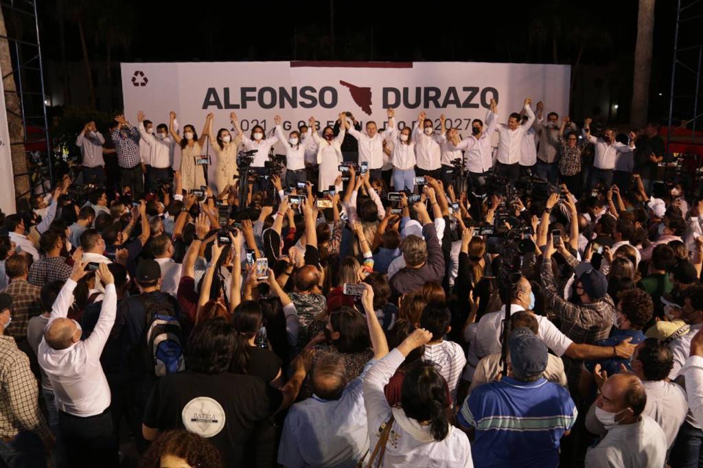 Aventaja Alfonso Durazo en conteo rápido