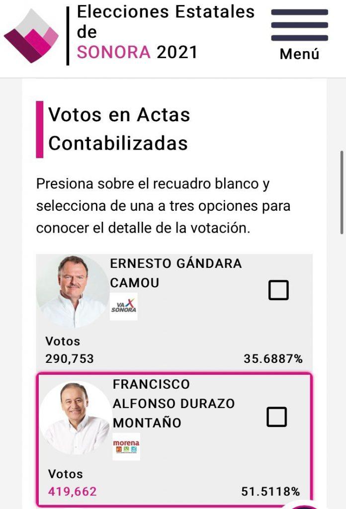 Durazo, virtual gobernador de Sonora