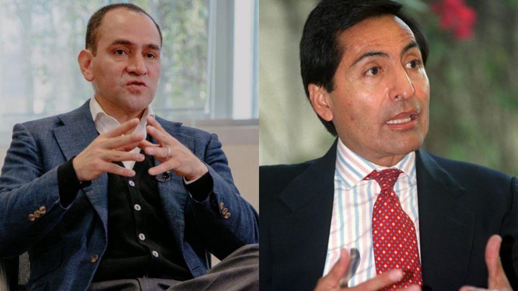 Arturo Herrera y Rogelio Ramírez de la O.