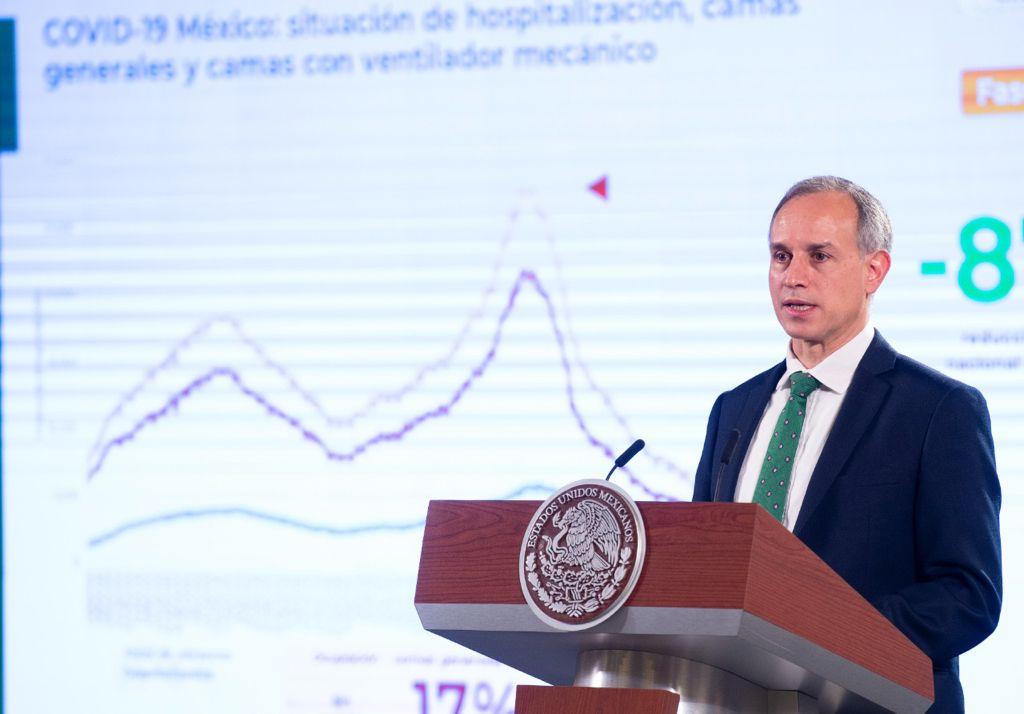 Hugo López-Gatell Foto: Presidencia