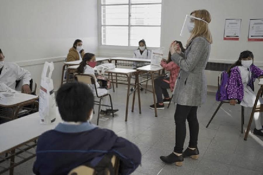clases presenciales Foto: Internet
