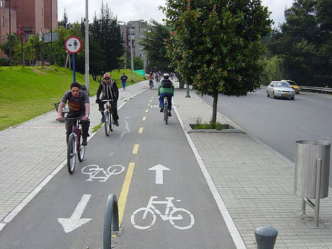 ciclovías Foto: Safe City