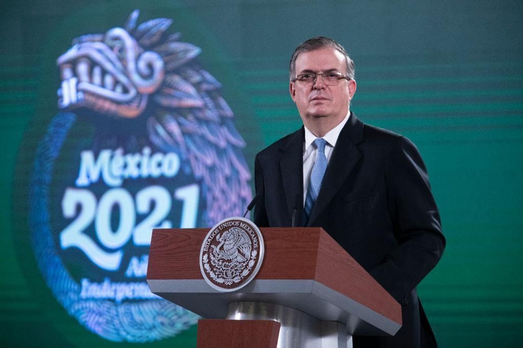 No se previa visita de Kamala Harris al Senado: Marcelo Ebrard