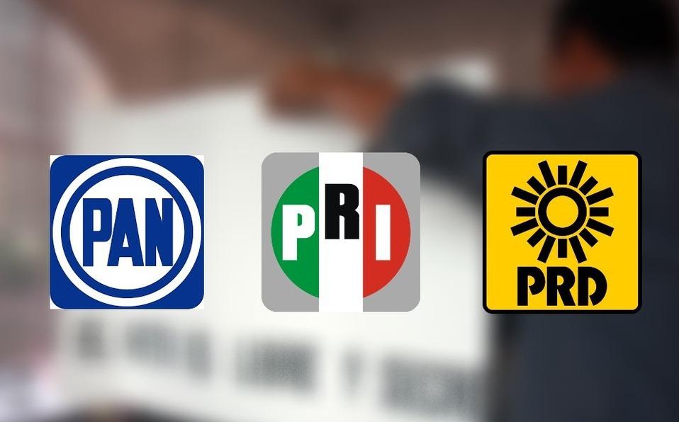 PAN, PRI, PRD Foto: Internet