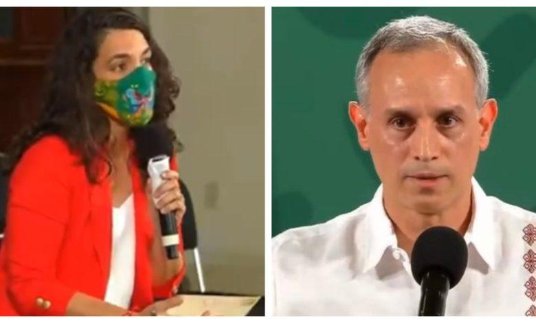 López-Gatell se enfrasca en discusión con reportera sobre efectividad de vacuna Cansino Foto: Internet